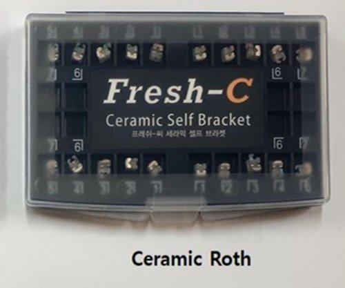 Fresh-Ceramic Self Bracket Roth 022  1set(국산)